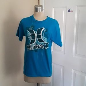 Size small Hurley t-shirt blue